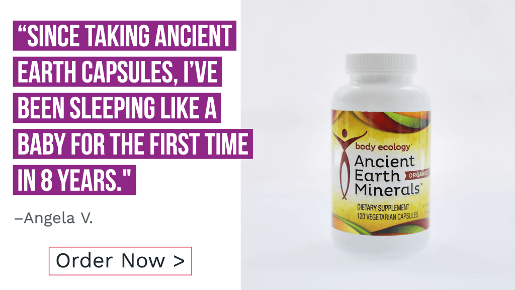 positive customer review of healthy sleep aid ancient earth minerals