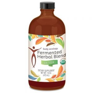 Herbal fermented detox blend