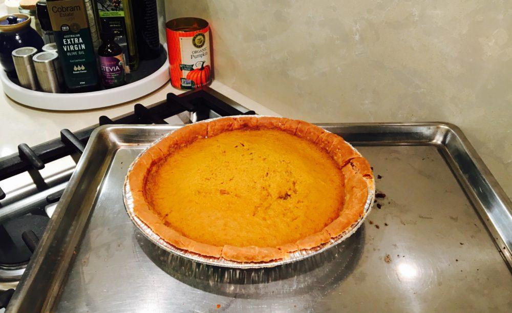 Donna's sugar-free pumpkin pie