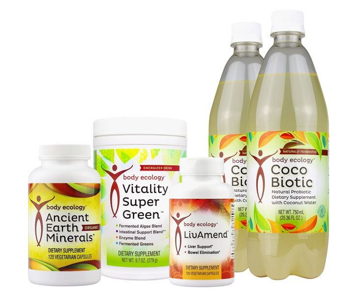 Body Ecology's BE Clean Kit