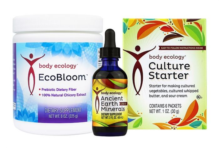 Body Ecology EcoBloom, Culture Starter and Ancient Earth Minerals