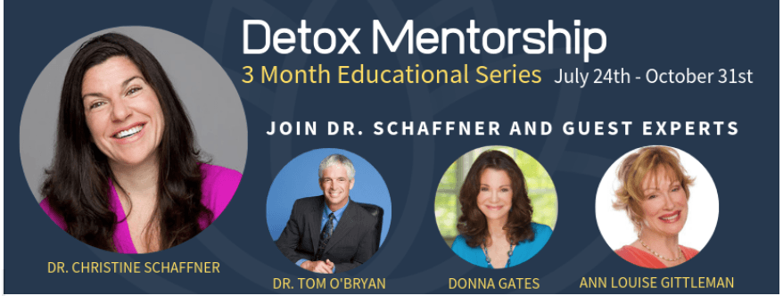 90-Day Detox Membership - hosted by Dr. Christine Schaffner