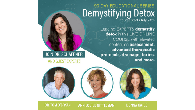 Protocols to Remove Toxins at Home: Dr  Christine Schaffner