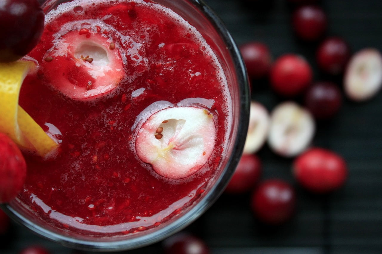 A holiday probiotic punch recipe