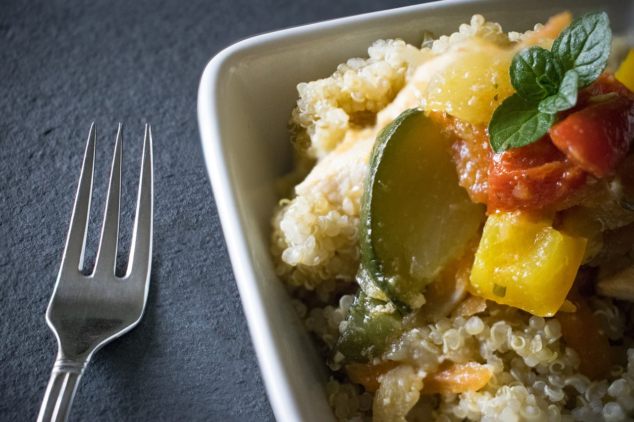 How to cook perfect quinoa in 15 minutes & 3 steps