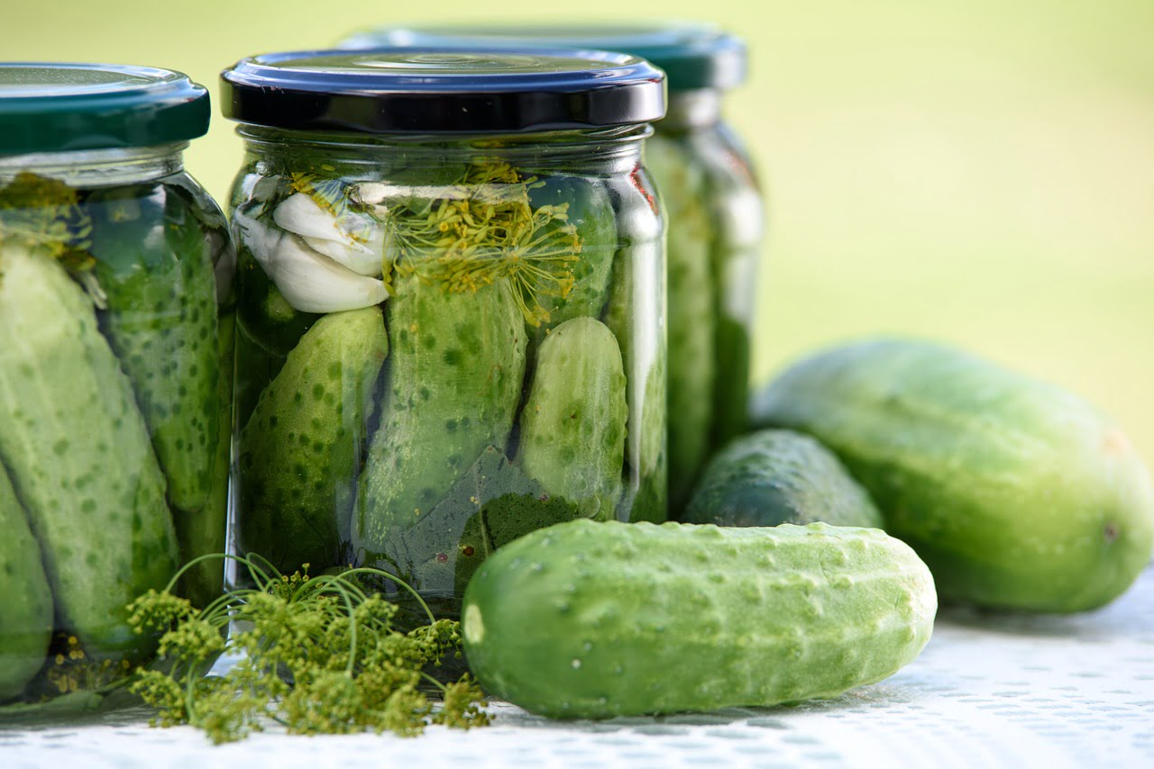 Quick and easy dill pickles (your kids are going to love)