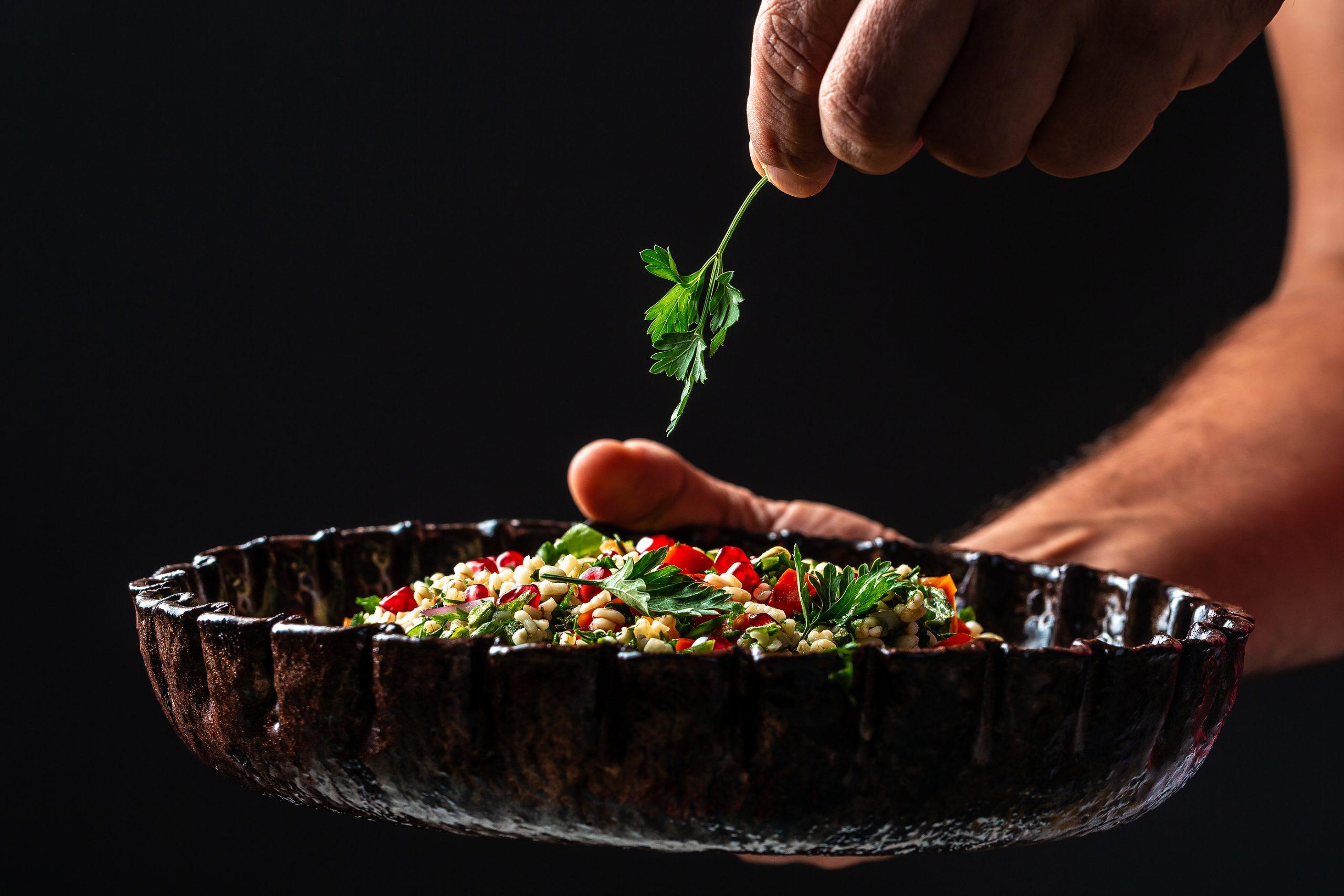 [RECIPE] Make-ahead millet tabouli salad with garlic-mint dressing