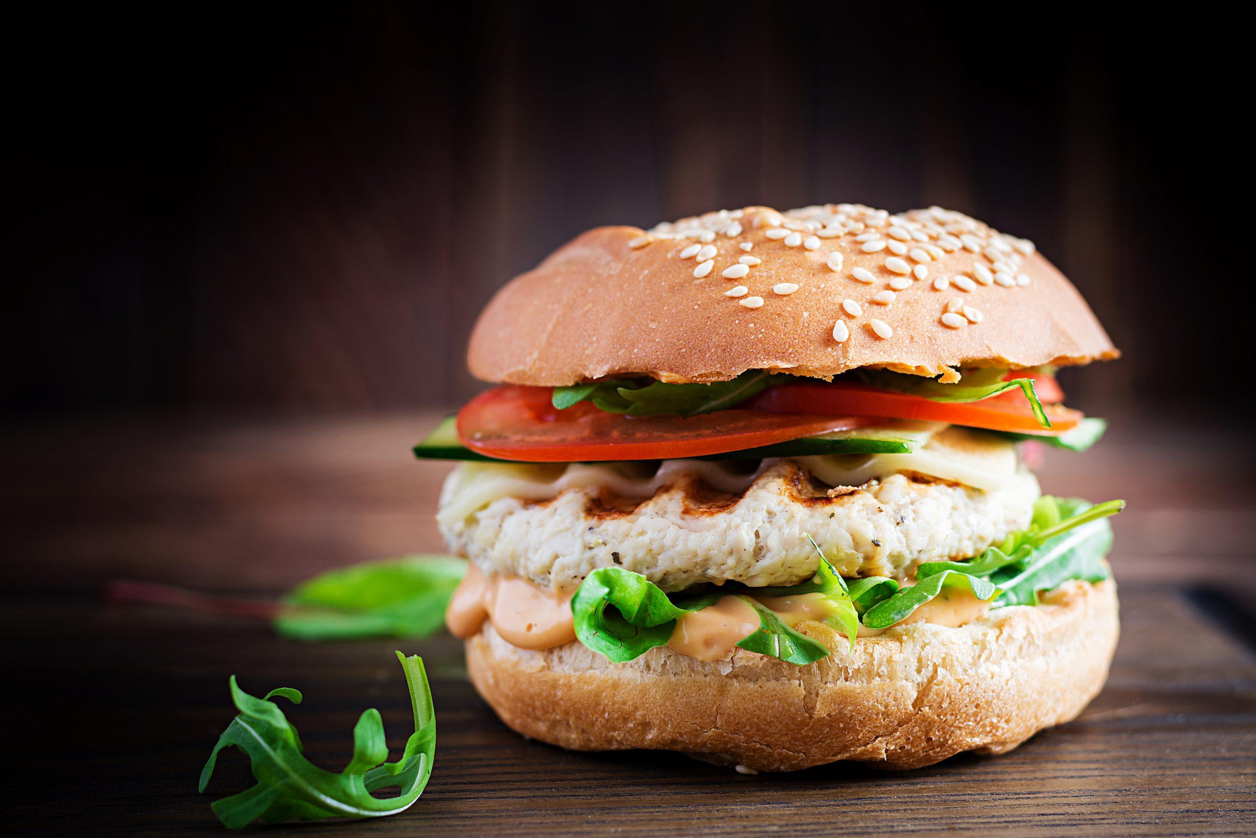 [RECIPE] Great-tasting turkey burgers with sweet mustard sauce