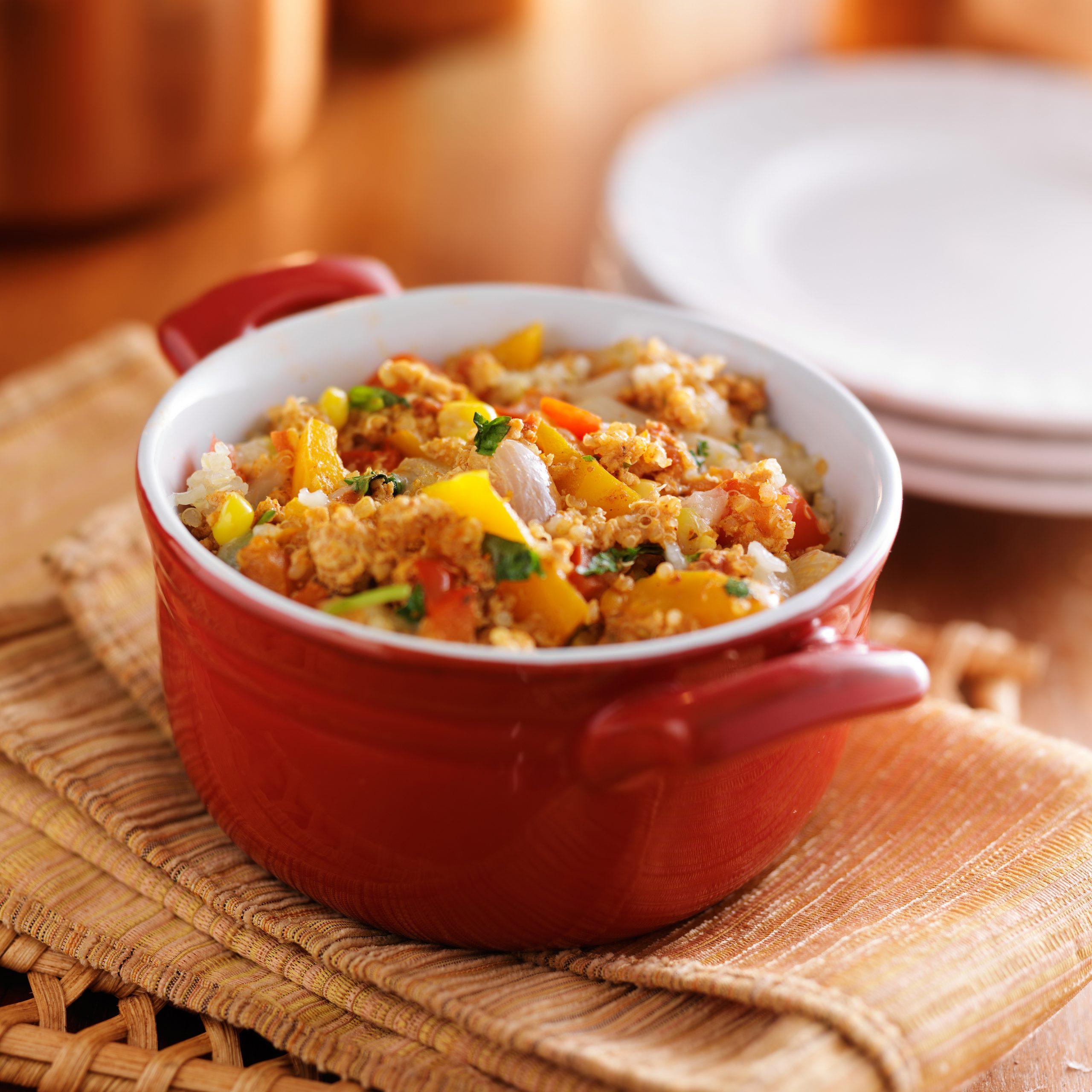 [RECIPE] Truly tempting Tex-Mex millet and amaranth corn casserole